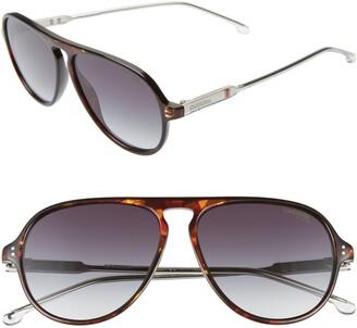 48a2fa731a Carrera Eyewear 57mm Aviator Sunglasses