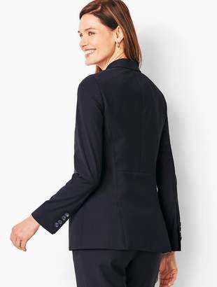 Talbots Seasonless Wool Two-Button Blazer