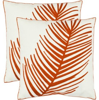 Safavieh Remy Floral Pillow, Set of 2