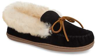 Minnetonka Alpine Genuine Shearling Slipper