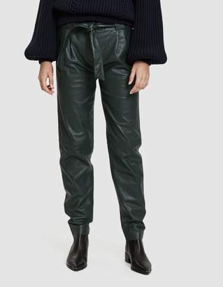 Just Female Sago Leather Pant