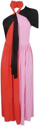 MSGM Color Block Dress