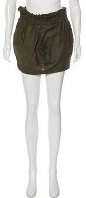 IRO Nirvana Linen Mini Skirt