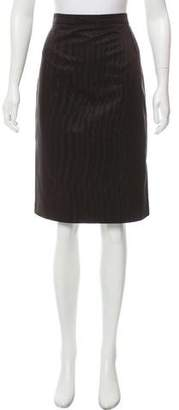 Christian Lacroix Knee-Length Textured Skirt