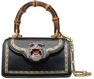 Gucci Mini Thiara Top Handle Leather Satchel