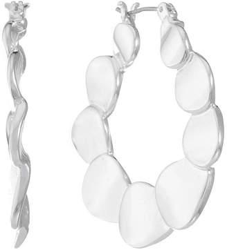 Gloria Vanderbilt 33.7mm Hoop Earrings
