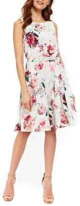 Wallis Pretty Bloom Fit & Flare Dress