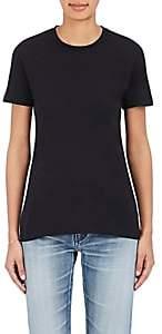 Barneys New York Women's Pima Cotton Crewneck T-Shirt - Black