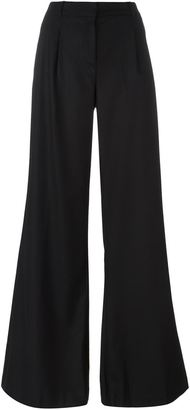 Michael Michael Kors high waisted flared trousers $216.55 thestylecure.com
