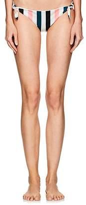 Solid & Striped WOMEN'S JANE BIKINI BOTTOM - BLK JDE CRL STRIPE SIZE XS