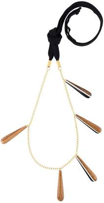 Marni teardrop pendant necklace