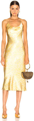 Ganni Cameron Dress in Tapioca | FWRD