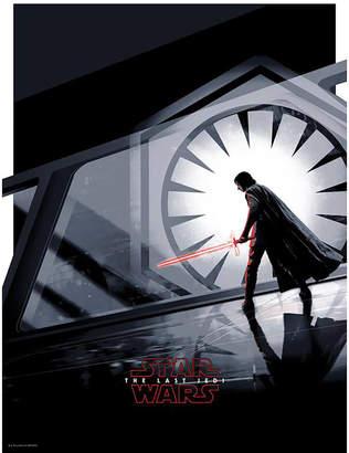 """Acme Star Wars The Last Jedi """"Kylo Ren"""" 18x24 Screenprint by Matt Ferguson"""
