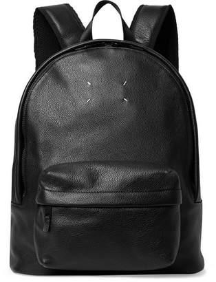 Maison Margiela Full-Grain Leather Backpack