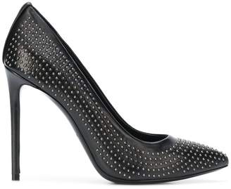 Marc Ellis studded pointed toe pumps
