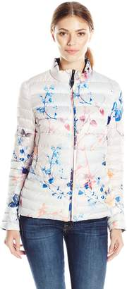 Dawn Levy 2 Women's Lightweight Reversible Printed and Solid Coat