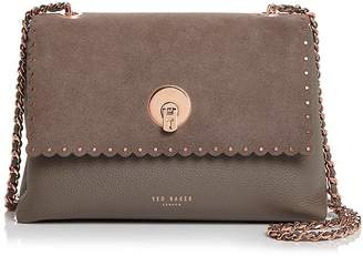 559593725 Ted Baker Sultane Studded Leather   Suede Crossbody