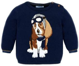 Mayoral Baby-Boy-Fighter-Pilot-Dog-Sweater