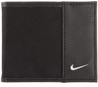 Nike Men's Leather & Nylon Billfold