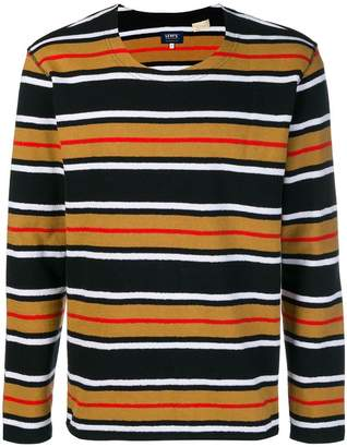 Levi's Made & Crafted striped crew neck top