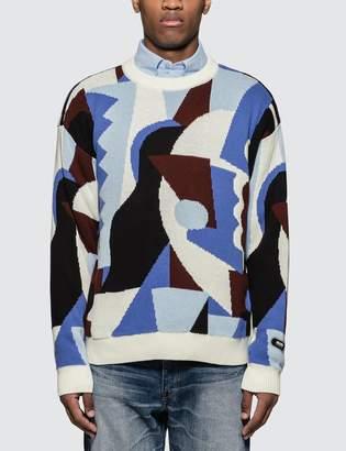 Martine Rose Napapijri X Abstract Jacquard Knitwear