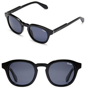 Quay Walk On Round Sunglasses