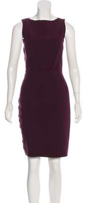 Lanvin Wool-Blend Sheath Dress