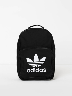 adidas Classic Trefoil Backpack in Black White