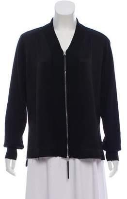 Marni Wool Zip-Up Sweater