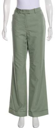 Brooks Brothers Mid-Rise Wide-Leg Pants w/ Tags