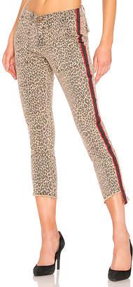 Pam & Gela Uniform Side Stripe Step Hem Pant