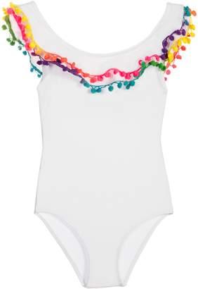 Pilyq Pompom One-Piece Swimsuit
