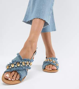 Park Lane Flat Sandals