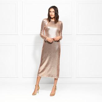 Rachel Zoe Jeane Fluid Sequin Midi Dress