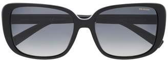 Versace Eyewear oversized square sunglasses