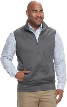 Izod Big & Tall Spectator SportFlex Classic-Fit Stretch Fleece Vest