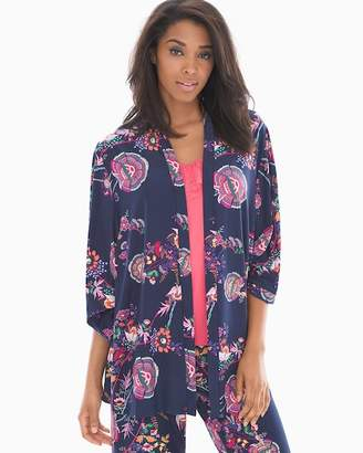 Bliss Knit Pajama Wrap