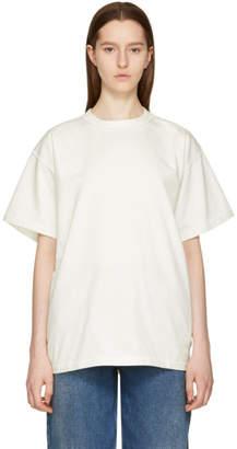 Maison Margiela Off-White Logo Back T-Shirt