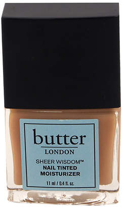 Butter London Neutral Palette Sheer Wisdom Nail Tinted Moisturizer 0.4Oz Nail Lacquer
