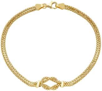10k Gold Knot Bracelet