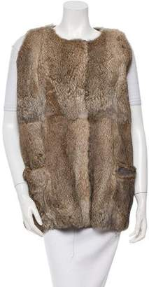 Marni Rabbit Fur Vest