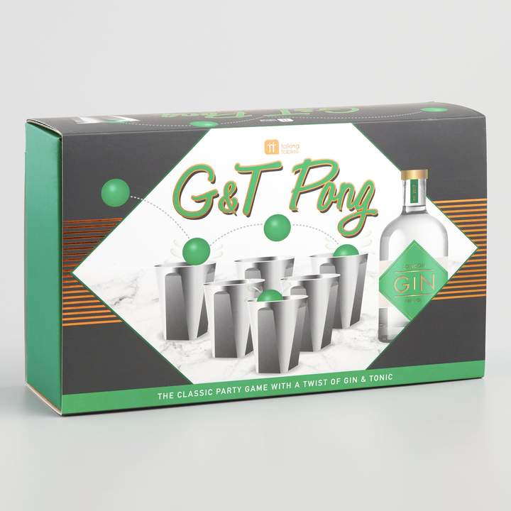 Cost Plus World Market Gin & Tonic Pong Drinking Game