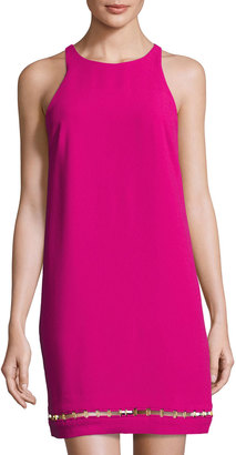 Trina Turk Alek Sleeveless Shift Dress, Mod Magenta $199 thestylecure.com