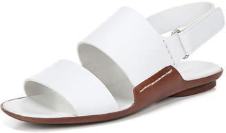Vince Telsa Flat Leather Slingback Sandals