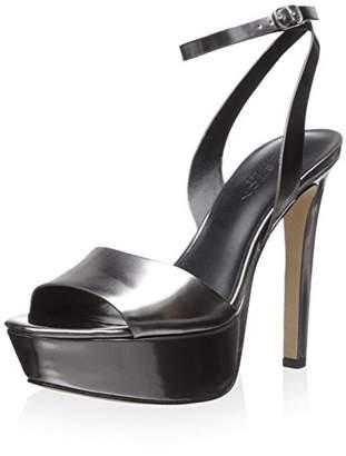 Halston Hertiage Women's Bobbie Ankle Strap Platform Sandal