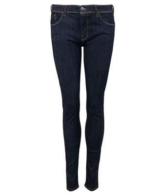 Emporio Armani Classic Mid Rise Skinny Jeans Colour: BLUE, Size: 31R