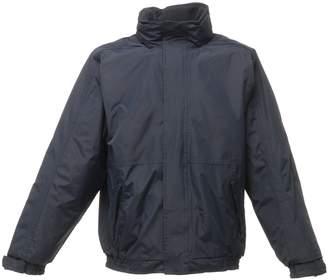 Regatta Mens Dover Waterproof Windproof Jacket (S) (Seal Grey/Black)