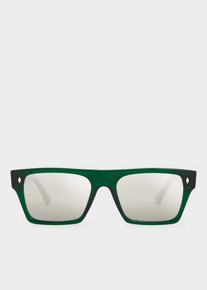 Paul Smith Cutler And Gross + Park Green Sunglasses - Limited Edition