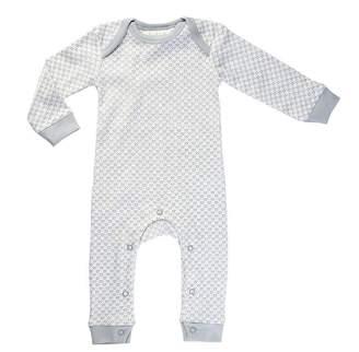 Sapling Organic Finest Organic Cotton Baby Romper Dove Grey 3 to 6 Months