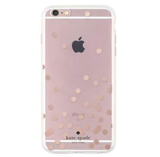 Kate Spade New York Clear Dot Case for iPhone 6/6s Plus - Rose Gold
